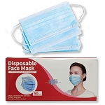 3-Layer Disposable Face Masks