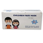 3-Ply Disposable Face Masks - Child Size - 50 per box