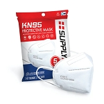 SUPPLYAID KN95 Protective Face Mask 5PK CE/ECM Certified | GB2626 Standard | 5-Pack
